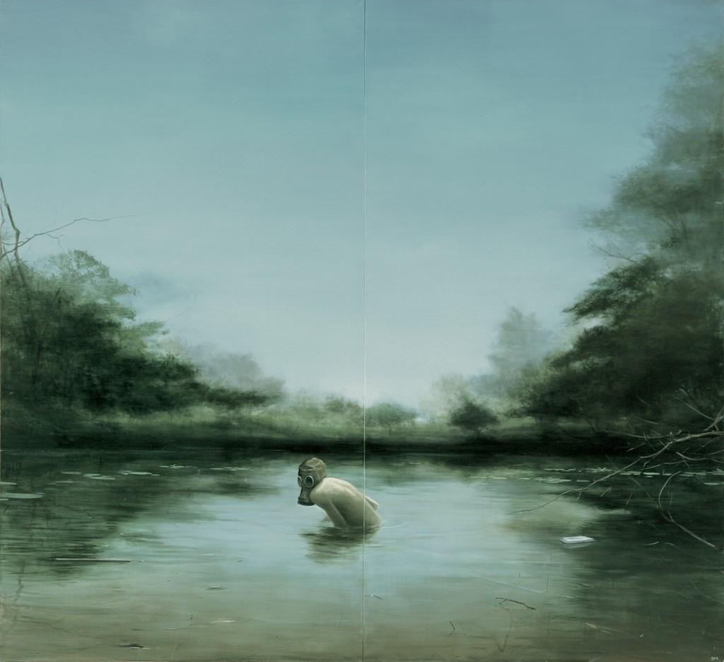 "Jia Aili, ""Nameless Lake"", 2007, Franks-Suss Collection, courtesy of Simon Franks"
