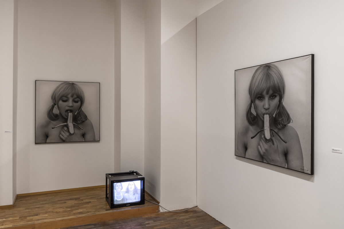 Natalia LL's works at the 'Non-Aligned Modernity. Eastern-European Art and Archives from the Marinko Sudac Collection' (FM Centre for Contemporary Art / Open Care, Milan), 2016. Courtesy of Marinko Sudac.