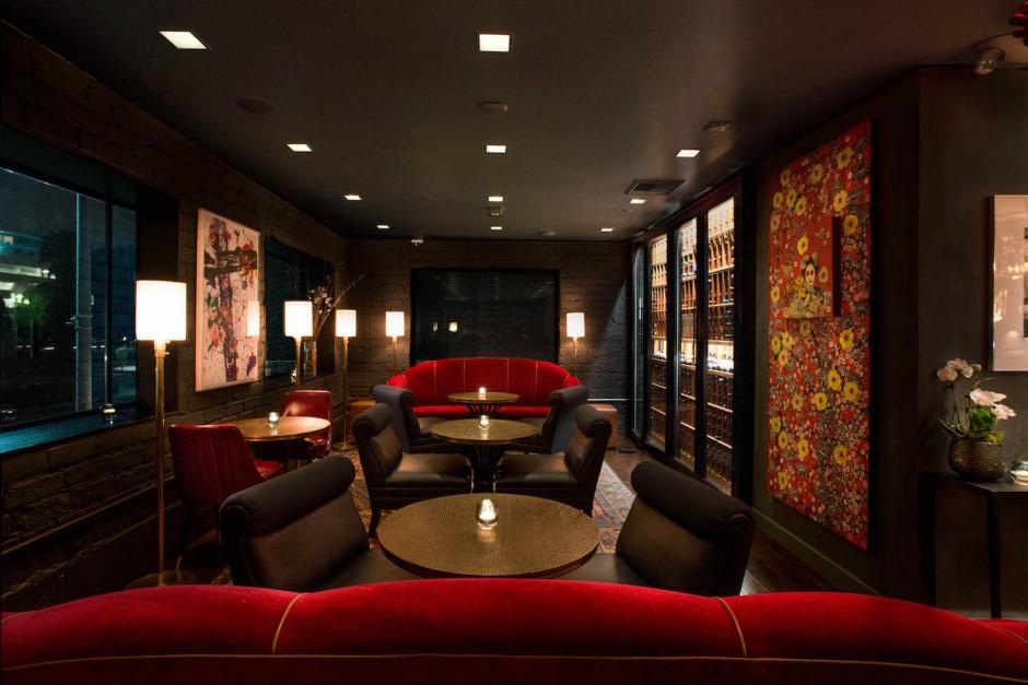 Lounge interior. Photo: Rob Stark. Courtesy of Andy Brandon-Gordon.