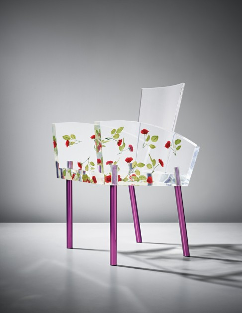 SHIRO KURAMATA, 'Miss Blanche' chair, designed in 1988