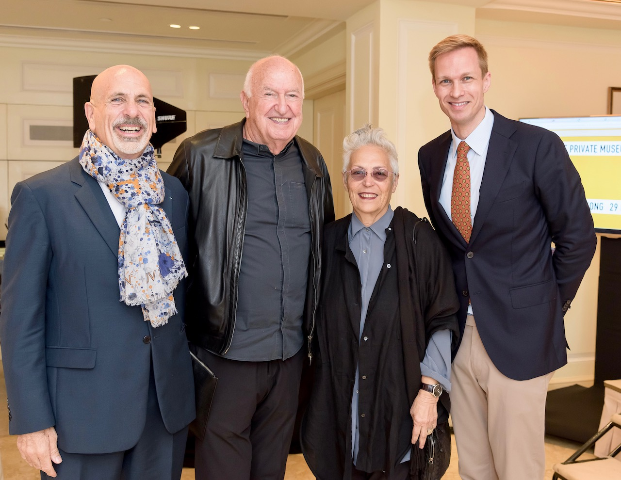 Scott Stover, Don and Mera Rubell, Christoph Noe