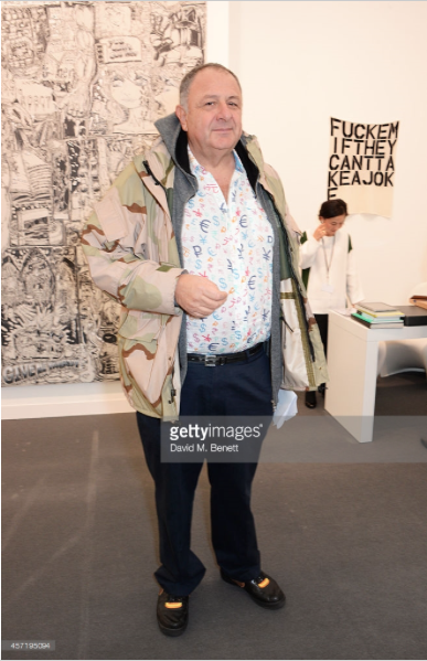 Jean Pigozzi at Frieze London art fair 2014. Photo
