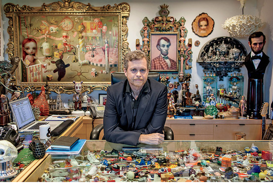 Mark Parker at his office at Nike. Photo:  Michael Friberg
