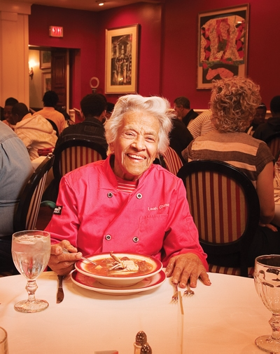 Leah Chase. Photo: Greg Miles Photographs, from MyNewOrleans.com
