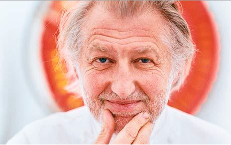 Pierre Gagnaire. Photo: Mark Read from The Telegraph UK.