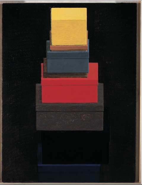 "Liu Ye, ""Boxes on Boxes"", 2007, courtesy of Zhou Tong."