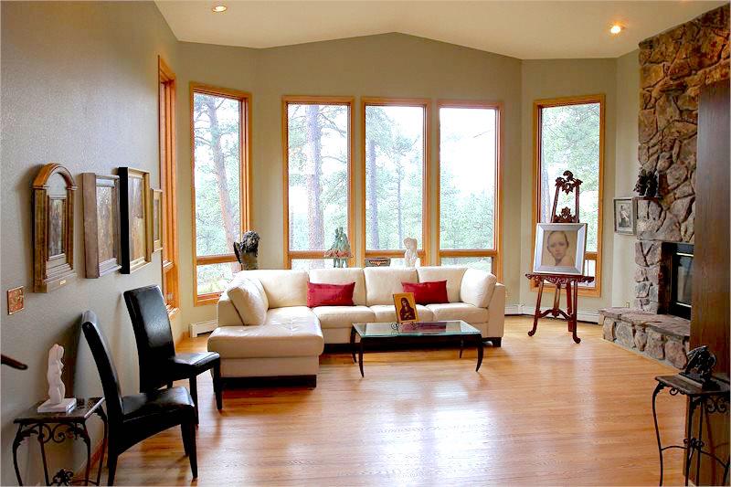 Shannon Robinson's Living Room, courtesy of Shannon Robinson.
