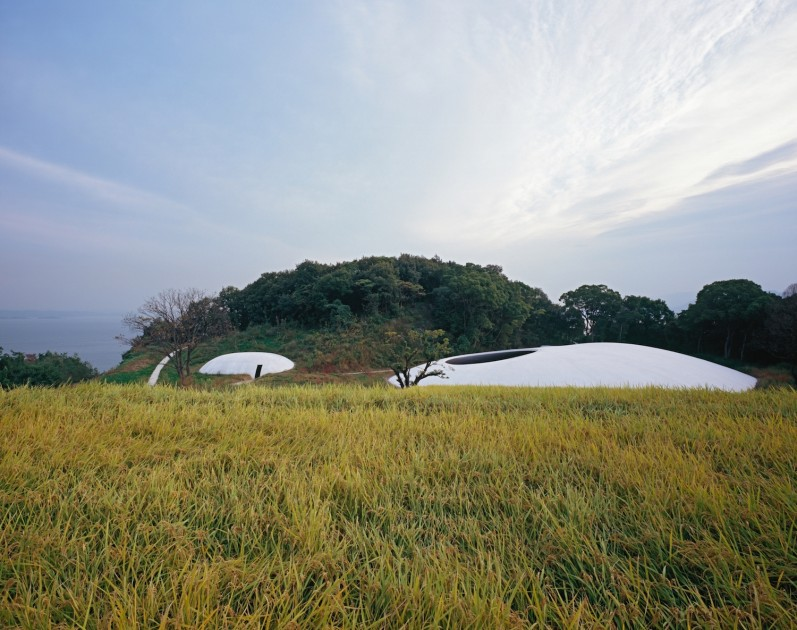 Teshima Art Museum. Photo: Ken'ichi Suzuki. Courtesy of Benesse Art Site Naoshima.