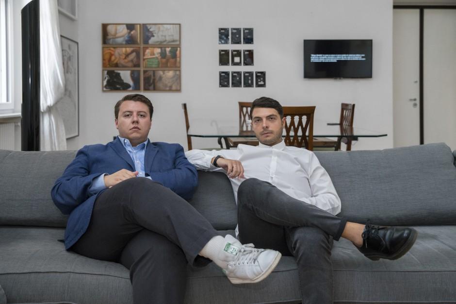 Théo-Mario Coppola & Francesco Taurisano. Courtesy of CollezioneTaurisano. Photo: Maurizio Esposito.