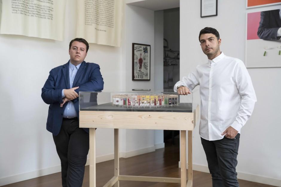 Théo-Mario Coppola & Francesco Taurino. Courtesy of CollezioneTaurisano. Photo: Maurizio Esposito.