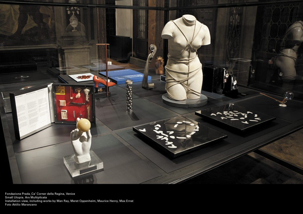 "Fondazione Prada- ""The Small Utopia. Ars Multiplicata"" Exhibition."