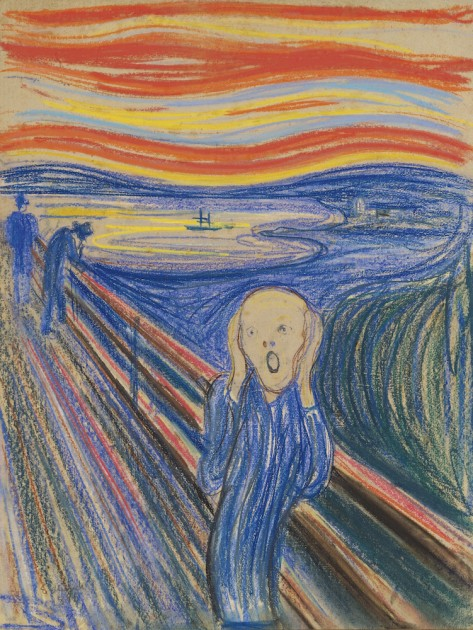 The_Scream_Pastel 1985 - OWNED BY ART COLLECTOR