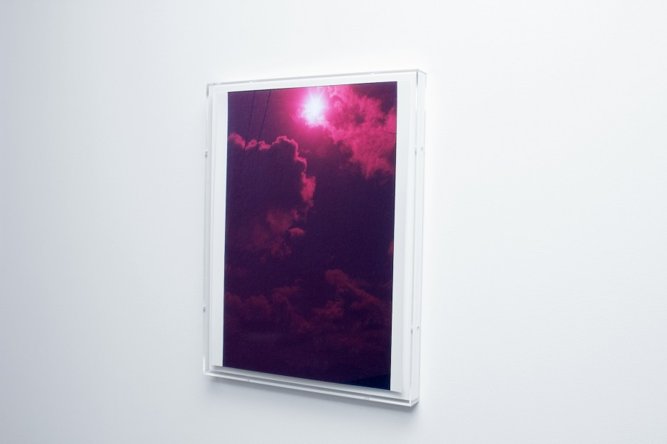 "Wolfgang Tillmanns, ""red eclipse"", 2000. Courtesy of Kazunari Shirai."