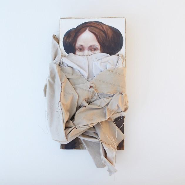 Titus Kaphar, Tina Vesper, 2009. Courtesy of Eileen and Richard Ekstract.