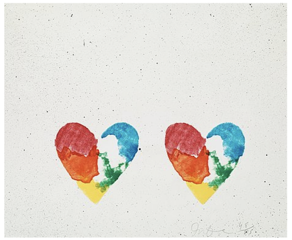 Jim Dine, Dutch Hearts, 1970. Photo: Masha Maltsava. Courtesy of George Merck.