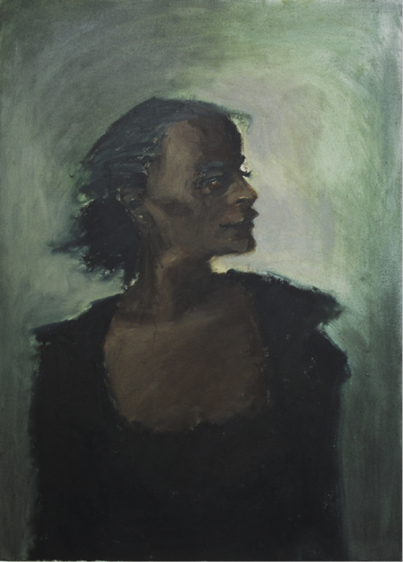 Lynette Yiadom Boakye, Major, 2006. Courtesy of Wilfried Cooreman.