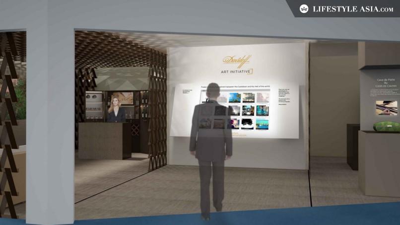 The New Davidoff VIP Lounge. Photo: Lifestyle Asia.