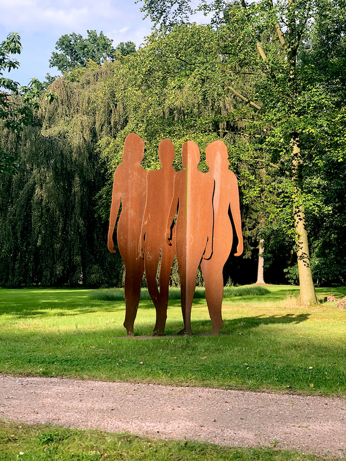 A sculpture by Werner Berges in the sculpture park. Courtesy of WAI.