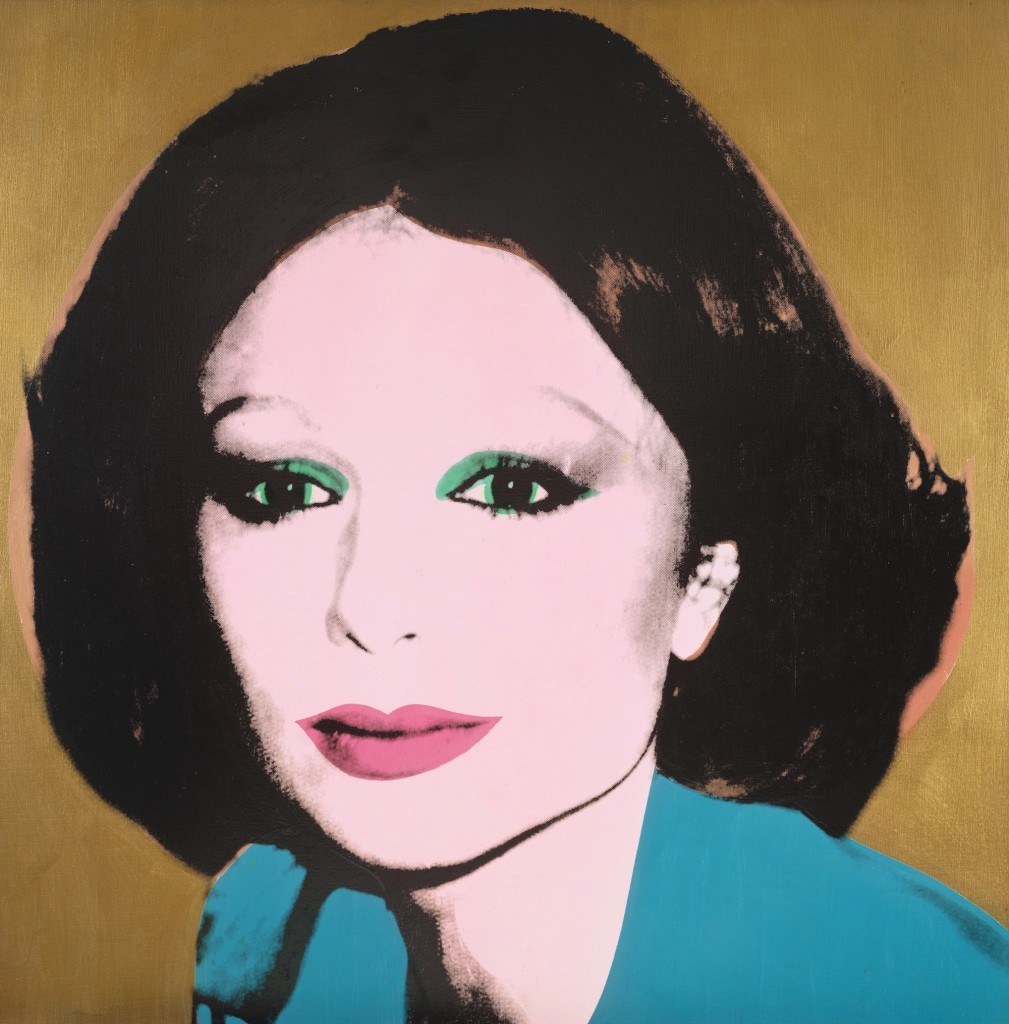 Andy Warhol, Farah Diba, 1976, Heidi Horten Collection. Courtesy of Heidi Horten Collection.