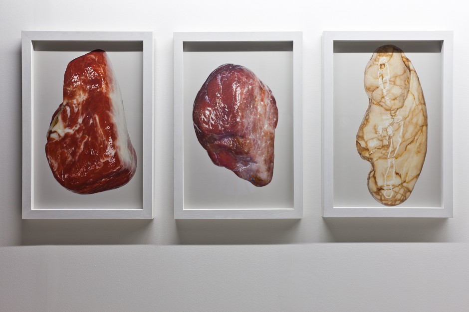 Witek Orski, Stones (triptych), 2012. Courtesy of Borowik Collection.