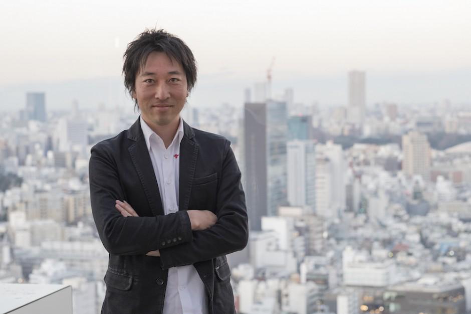 Portrait of Hideaki Fukutake. Photo: Jacques Houdoin.