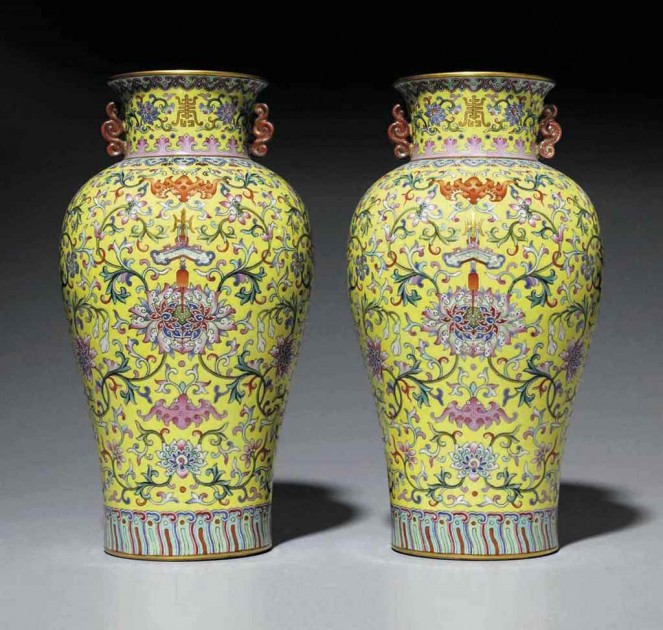 a_very_rare_and_superbly_enameled_pair_of_yellow-ground_famille_rose_v_d6018879g