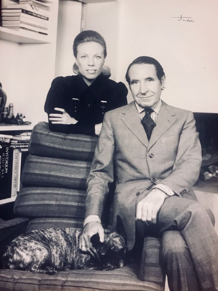 Heidi Horten and her first husband Helmut Horten. Courtesy of Heidi Horten Collection.