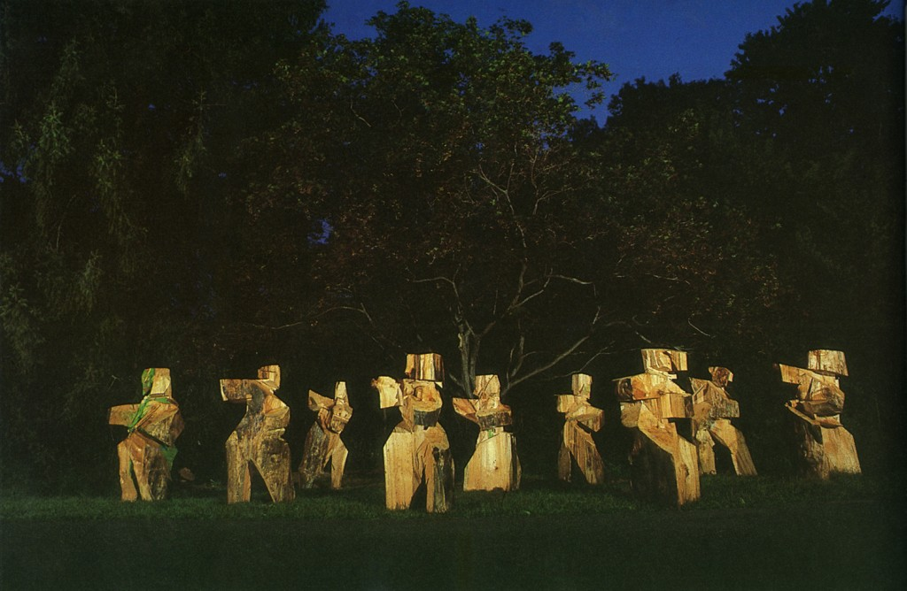"Ju Ming's ""Tai Chi Series"".  Courtesy of Max Hutchinson Gallery New York."