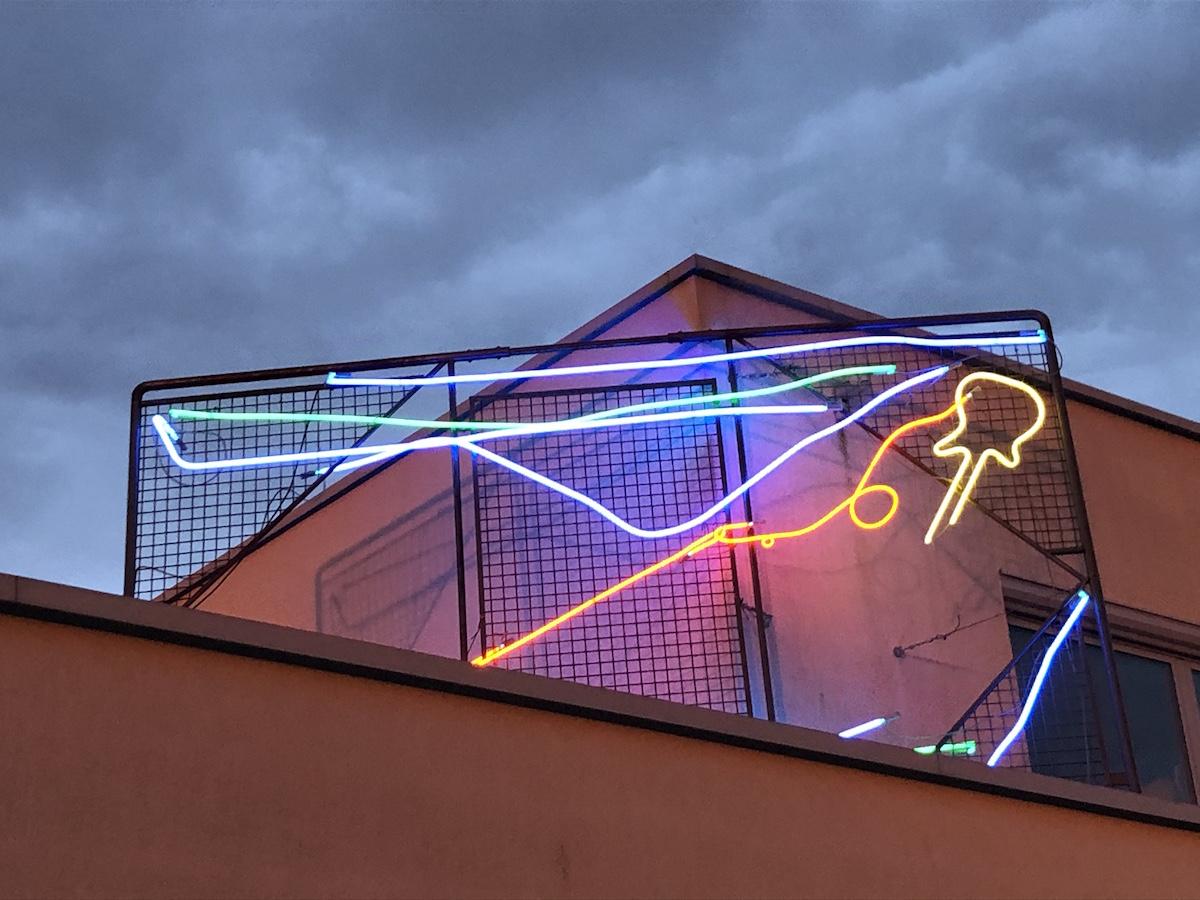Joris Van de Moortel, Zonnebeke by Night. Galerie Nathalie Obadia. Courtesy of Olivier Vandenberghe.