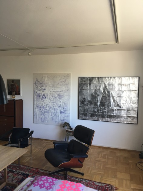 Artworks from left: Jana Schröder, Albert Grøndahl. Courtesy of Jakob Buus Madsen.