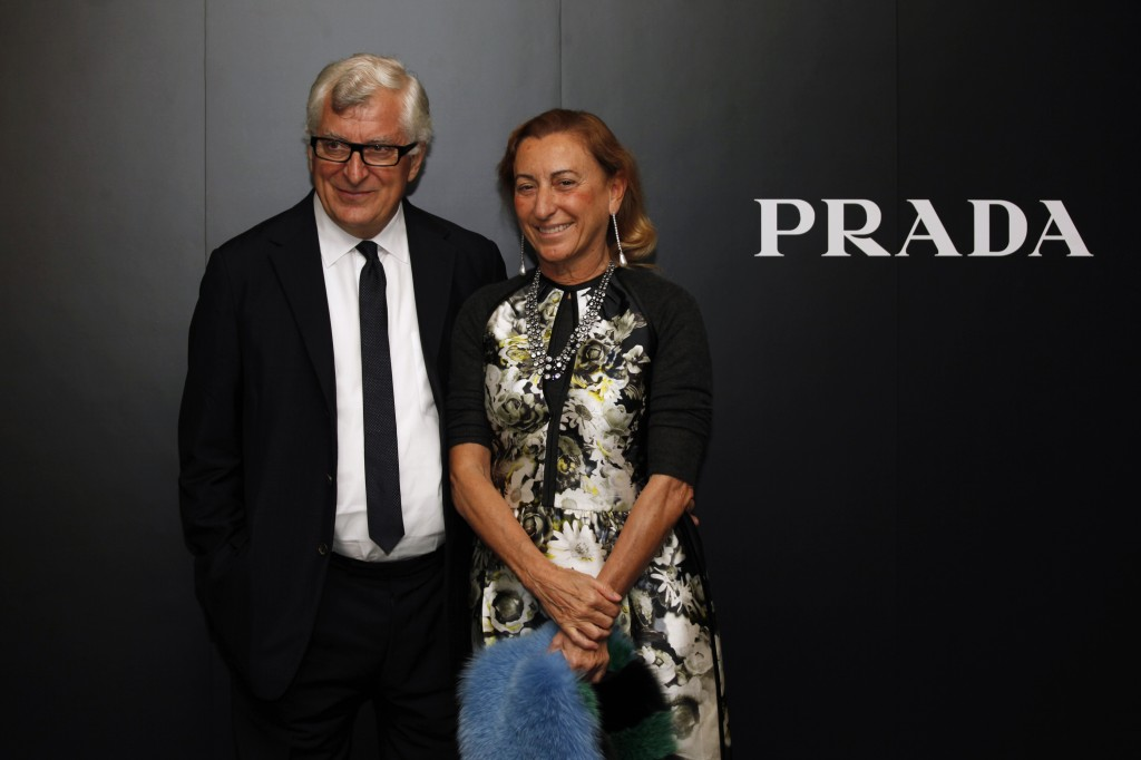 Patrizio Bertelli & Miuccia Prada- www.fashiontimes.com