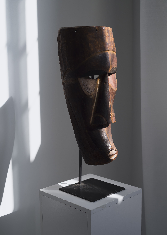 A Kuba Ngeende mask. Photo: Emma Howells. Courtesy of Olusanya Ojikutu.