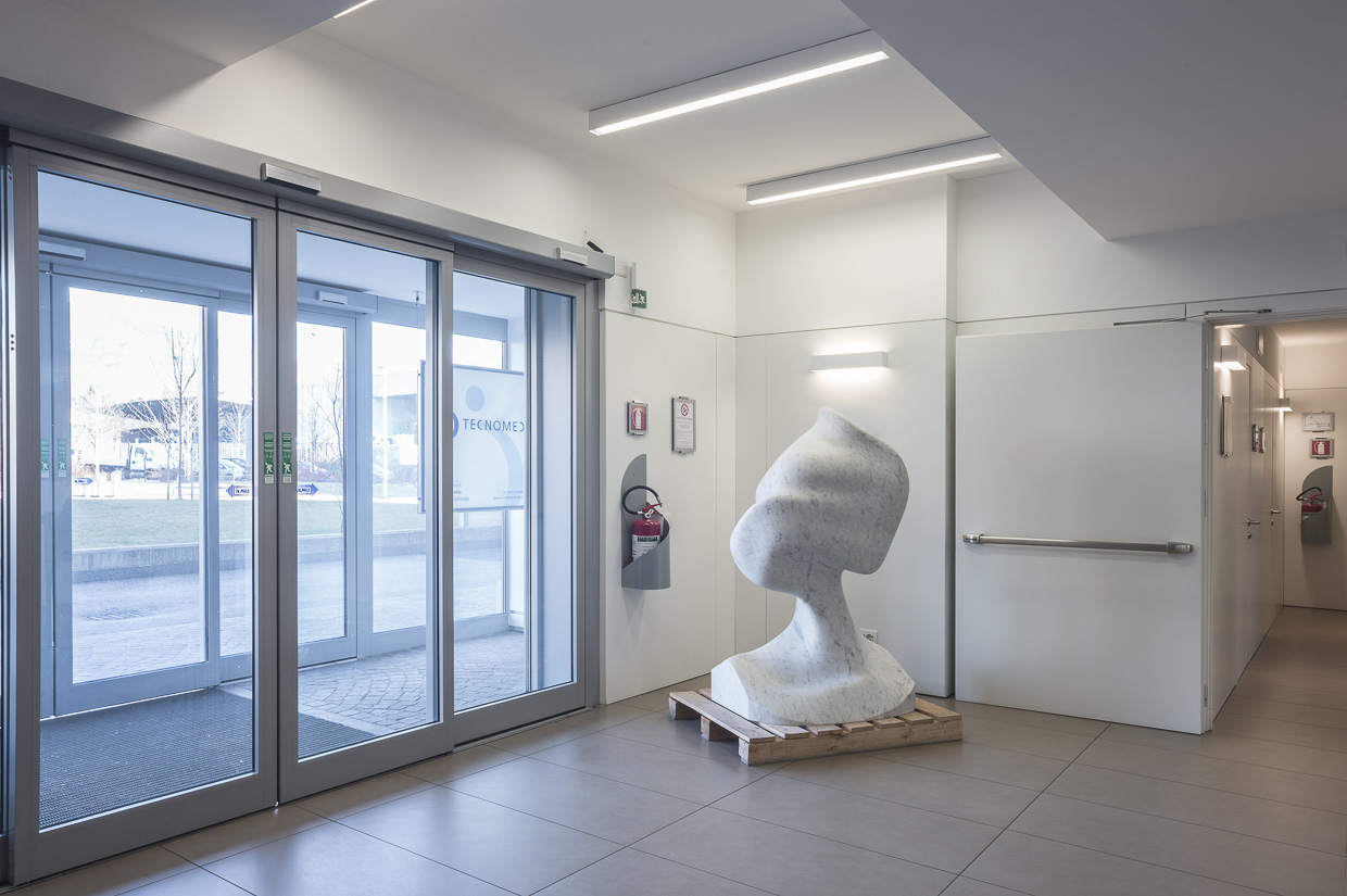 An artwork by Jon Rafman at one of the exhibition spaces. Photo: Valentina Casalini. Courtesy of Mauro De Iorio.