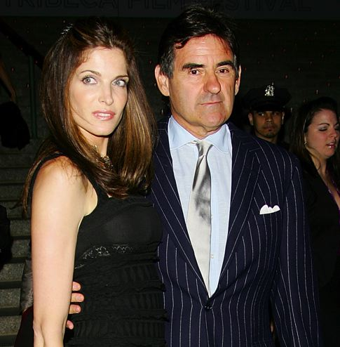Stephanie Seymour and Peter M. Brant. Photo ©Observer
