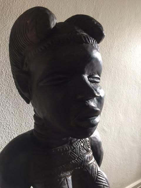 Old african sculpture (detail). Courtesy of Onofre Santos.