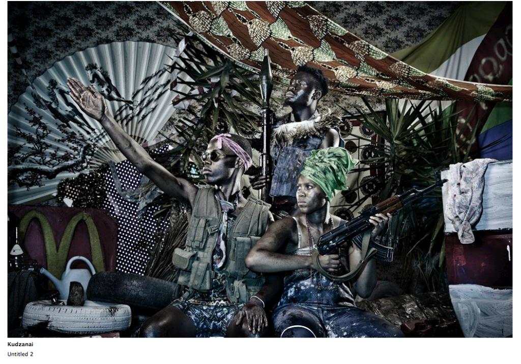 "Kudzanai, ""Untitled 2"", Franks-Suss Foundation, courtesy of Simon Franks."