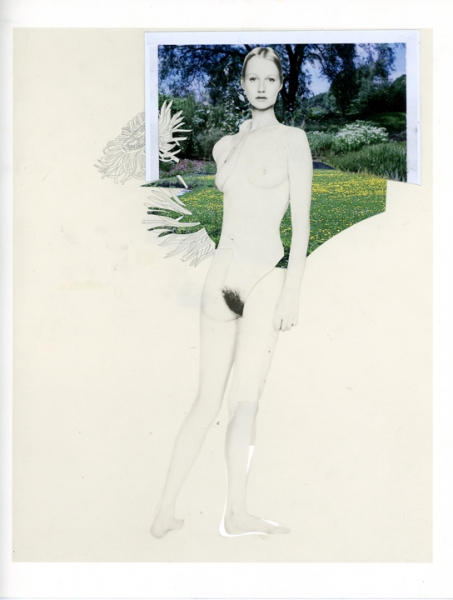 Wardell Milan, Heroine: nude and landscape #13. Courtesy of Ettore Rossetta.