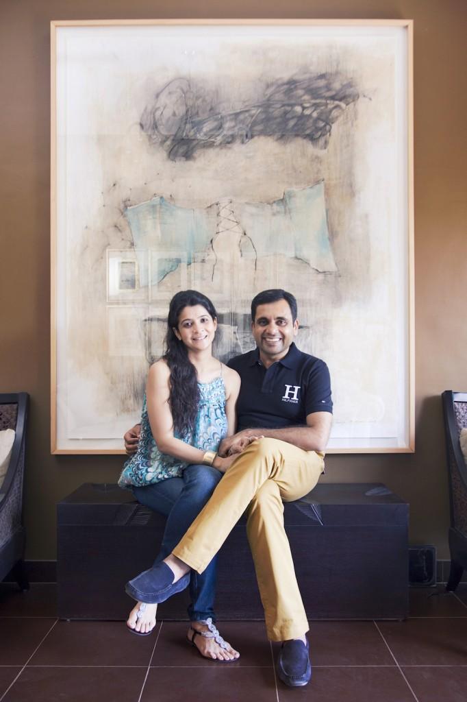 Anurag and Payal Khana. Courtesy of Anurag Khanna.
