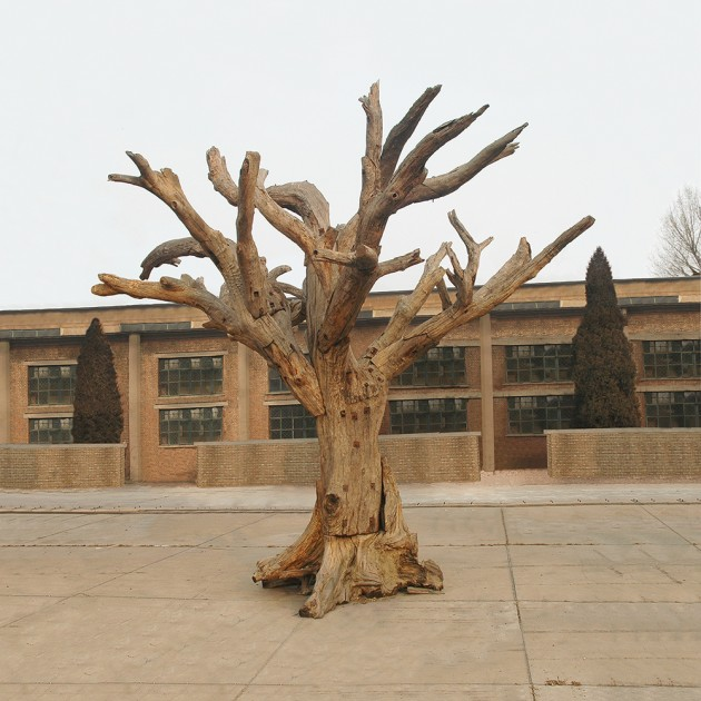 Ai Weiwei, Tree #11, 2009 - 2010. Courtesy of Stockamp Tsai Collection.