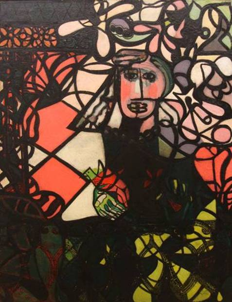 Amelia Pelaez, Woman, 1943. In Gary Nader's collection. Courtesy of Gary Nader.