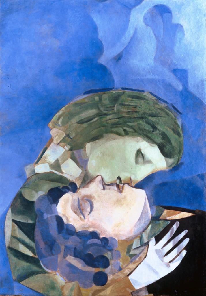 Marc Chagall, Les Amoureux, 1916, Heidi Horton Collection. Courtesy of Heidi Horten Collection.