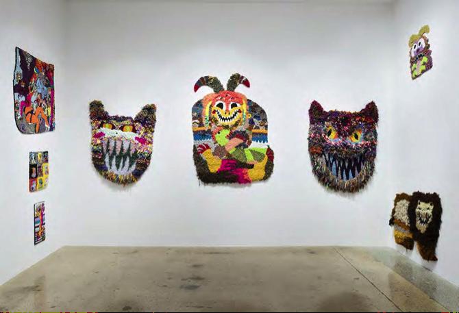 Hannah Epstein, Monster World. Courtesy of Gunda and Peter Niemann.