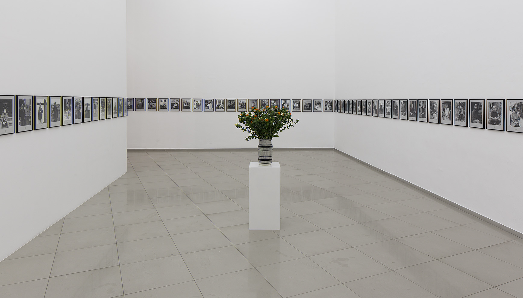 Hans-Peter Feldmann, 100 years, 2001. As installed in Tel Aviv, 2016. Courtesy of Hans Peter Feldmann, 303 Gallery, and Igal Ahouvi Art Collection.