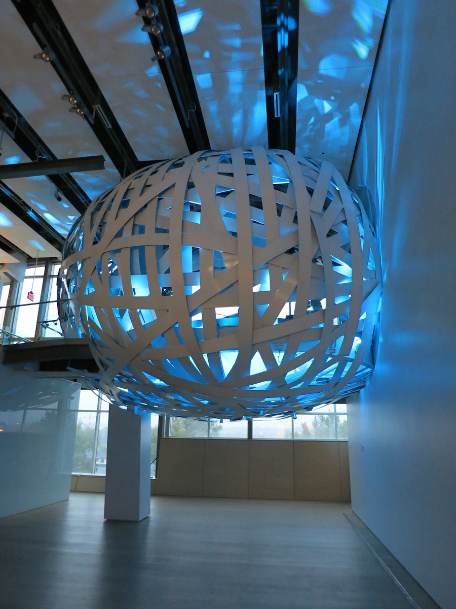 The 'Nest' meeting space. Esker Foundation, Calgary. Courtesy of Esker Foundation.