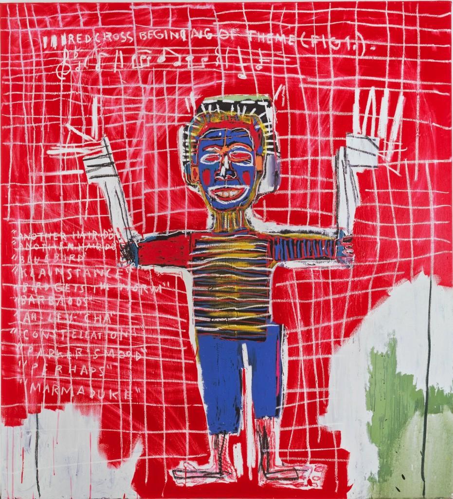 Jean-Michel Basquiat, Red Savoy, 1983, The Heidi Horten Collection. Courtesy of Heidi Horten Collection.