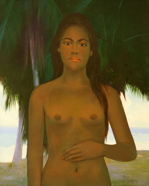 Plutarco Andujar, Untitled, Oil on canvas. Courtesy of Gary Nader.