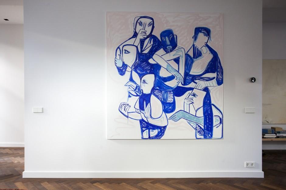 An interesting piece by Melike Kara. Courtesy of Freddy Insinger.