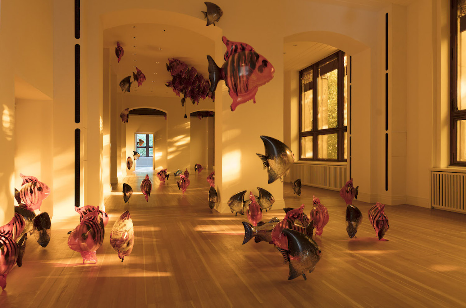 Philippe Parreno, My Room Is Another Fish Bowl, 2018. Martin Gropius Bau Berlin, 2018. Courtesy of Philippe Parreno, Pilar Corrias Gallery, and Igal Ahouvi Art Collection.