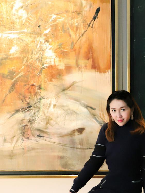 Sabrina Ho with Zao Wou-ki, 16.5.66 (1966). Courtesy of Sabrina Ho.