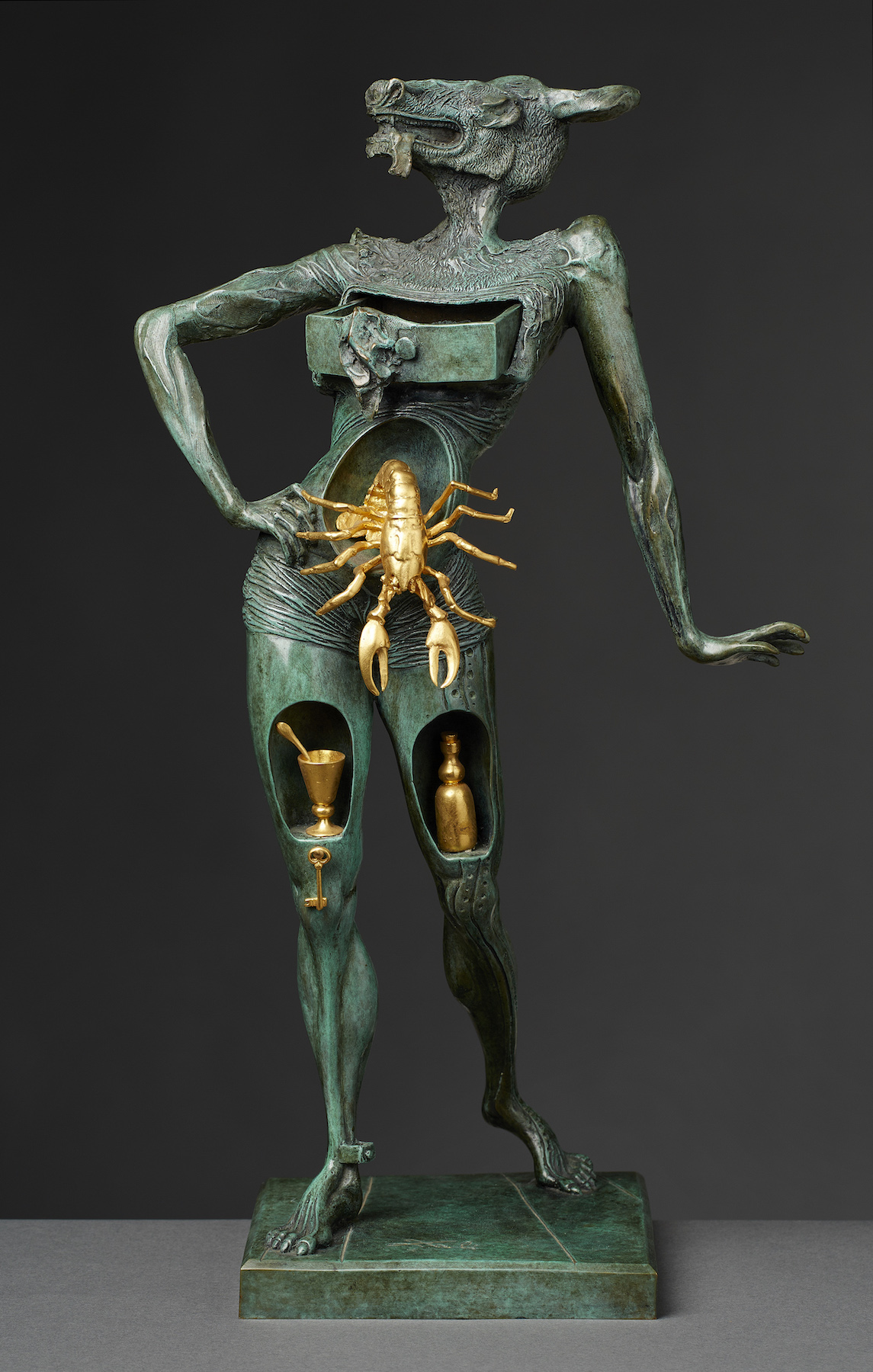 Salvador Dali, Le Minotaure Bronce. Courtesy of A PRIVATE COLLECTION.